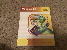 Vocabu-Lit Building Vocabulary Through Literature