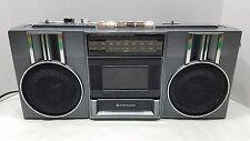 Vintage Hitachi TRK-6820H AM/FM Stereo Cassette Working Retro Boombox