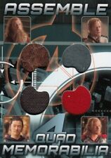 Avengers Assemble AQ-1 Quad Memorabilia Relic Card