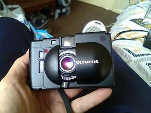 Olympus XA Point & Shoot 35mm Film Camera 35mm f/2.8 Lens Tested
