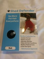 New Other Shed Defender Black Small Dogs 18-28lbs No More Pet Hair Everywhere