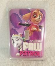"Paw Patrol Metal Light Switch Cover ""Call The Paw Patrol""~New~Free Shipping~"
