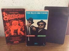 Lot of 3 Vhs Tapes Blues Brothers Santa Claus Texas Chainsaw Massacre