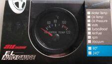 Medidor de Temperatura del Refrigerante Del Agua Reloj y remitente 12V Od 52MM MTR1003B12 Automático De Madera