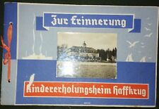 Rar! Zur Erinnerung an das Kindererholungsheim Haffkrug 1938 bei Scharbeutz