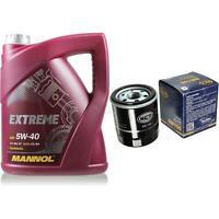 Ölwechsel Set 5L MANNOL Extreme 5W-40 + SCT Ölfilter Anschraubfilter Toyota