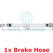 APEC BRAKING 250mm Scheibe Bremssattel flexibel GUMMISCHLAUCH hos4058