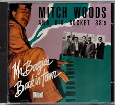 Mitch Woods And His Rocket 88's- Mr. Boogie's Back In Town cd Mint