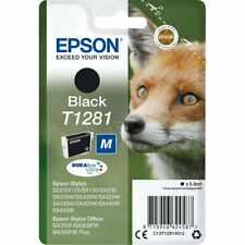 2 x original Epson Tintenpatrone »T1281M« schwarz C13T12814012 (= 2er SET)