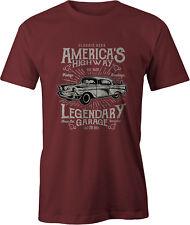 America's Highway 57 Chevy T Shirt Classic Car USA
