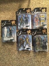 Lot of 5 McFarlane X-Files Series 1 Action Figures Horror New On Card