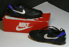Vintage 1990's Nike TMP Classic Leather Soccer Shoes USA Size 9