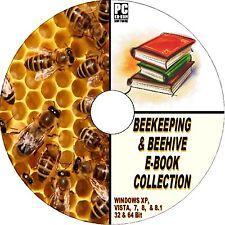 Raccolta GIGANTE 50 + apicoltura libri su CD-ROM di gestire le API ALVEARE MIELE ETC NUOVO