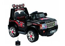 Kids Ride On Car Jeep 12v Battery Parental Control Twin Motors Range Rover Style