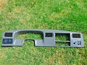 99-04 Ford F-250 350 450 550 Super Duty Dash Cluster Bezel Trim Gray NON 4x4