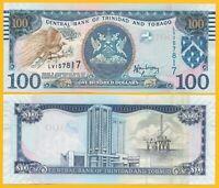 Trinidad & Tobago 100 Dollars p-51b 2006 Sign. Rambarran UNC Banknote