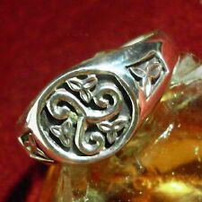 TRISKEL Ring Silber Celtic Kelten Larp Wicca Gothic