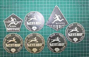 Vintage The pins for the run of the USSR, Tashkent Uzbekistan 1975