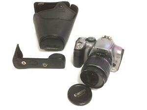 CANON DS6041 EOS Digital Rebel 300D AF Camera With Zoom Lens 58 mm + Case