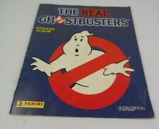the Real Ghostbusters Panini Sticker Album 1988 80% Complete
