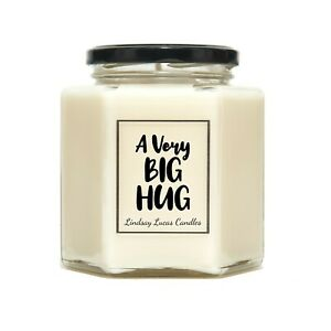 A Very Big Hug Scented Candle Gift For Friend/Boyfriend/Girlfriend