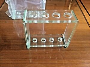 Quality Thick Lucite Acrylic Toothbrush Holder Stand for Bathroom