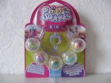 Squinkies Prinzessinnen Armband mit 4 Squinkies 166, 167,168 und 169