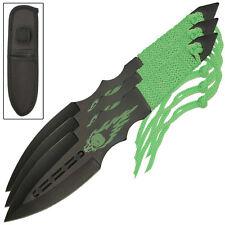 Zombie Killer Vengeful Spirit 3 Piece Throwing Target Board Kunai Knives Set