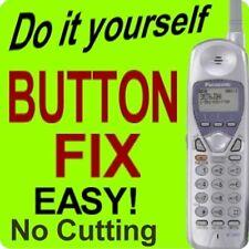 Panasonic Cordless Phone Keypad Button Fix KX-TGA271 KX-TGA271W KX-TGA271B