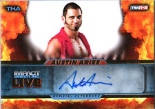 TNA Austin Aries L48 2013 Impact Wrestling LIVE GOLD Autograph Card SN 67 of 99