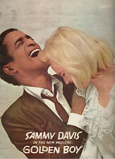 "Sammy Davis ""Golden Boy"" Souvenir Program 1964"