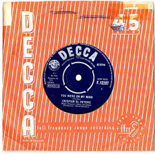 """CRISPIAN ST.PETERS.YOU WERE ON MY MIND / WHAT I'M GONNA BE.UK ORIG 7"""" & CO/SL.VG"""