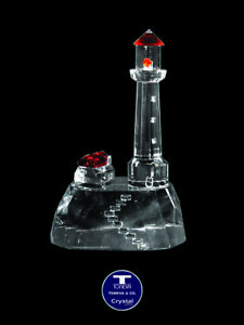 """[SPECIAL OFFER] """"Lighthouse Mountain"""" Austrian Crystal Figurine was AU$75.00"""