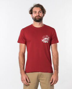 Rip Curl Tuc Tuc S/S Tee | Red | Size S to M