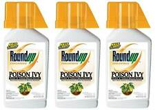 Roundup Poison Ivy Plus Tough Brush Killer Concentrate, 32oz 3 pack Free Ship!