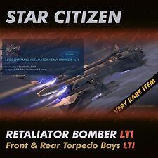 Star Citizen - Retaliator Bomber LTI + F&R Torpedo Bays LTI - NO CCU