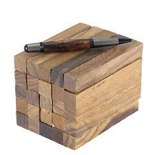 """Desert Ironwood (Olneya tesota) pen/razor blank turning square, 3/4"""" x 3/4"""" x 5"""""""