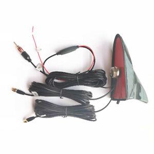 12V Car Radio Wifi GPS AM/FM Antenna Aerial Roof Mount Antenna Signal Amplifier