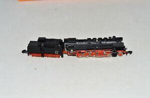 Z Scale Marklin 8884 DB 050 2-10-0 Steam Locomotive & Tender No Box #40
