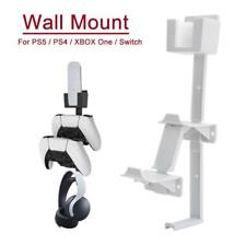 Wall Mount Bracket Holder Stand for PS5 PS4 XBOX One Switch Controller Headphone