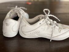 Varsity Spark Cheer Shoes Cheerleading Size 4.5 Lightweight White