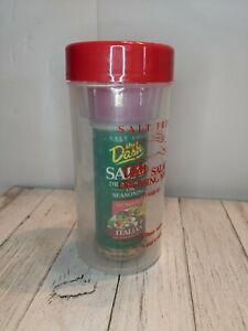 Mrs. Dash Salad Dressing Mix Shaker Dispensers Red Cap w/ Pour Spout