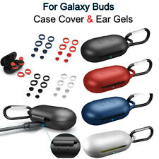 For Samsung Galaxy Buds Buds+ Silicone Protective Charging Case Cover &Ear Tips