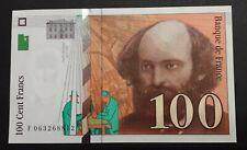 100 FRANCS PAUL CÉZANNE 1998 NEUF