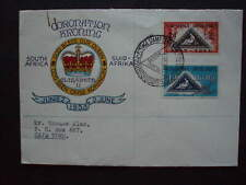 1953.FDC posted Capetown,Sg144 - 145,Stamp Centenary of Cape of Good Hope