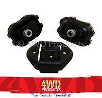 Engine Mount & Gearbox SET - Suzuki Sierra 1.0/1.3 Maruti 1.0 Drover 1.3 (81-99)