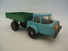 Vintage Rare BELAZ Wind Up Truck Toy Plastic & Tin Russian USSR