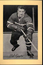 1944-63 BEEHIVE GROUP 2 PHOTOS   PHIL GOYETTE MONTREAL CANADIENS EX-MT F2535