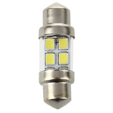 2X Pure White 6 SMD 1210 LED 31mm Car Interior Festoon Dome C5W Light Lamp W8N4