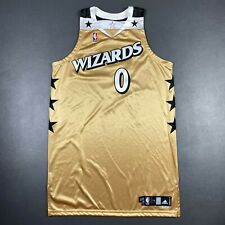 100% Authentic Gilbert Arenas Wizards Adidas 08 09 Game Worn Issued Jersey 50+4